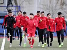 Die chinesischen Nachwuchskicker trainierten zuletzt in Mainz