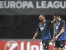 Für 1899 Hoffenheim ist die Europa League beendet