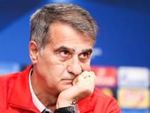 Besiktas-Coach Senol Günes will die Gruppenphase der Champions League ungeschlagen abschließen