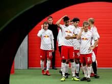 RB Leipzig besiegte in der Red Bull Arena Dukla Prag mit 2:0