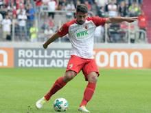 Rani Khedira spielt in der Bundesliga für den FC Augsburg