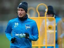 Fabian Lustenberger muss nach einer leichten Gehirnerschütterung mit dem Training pausieren