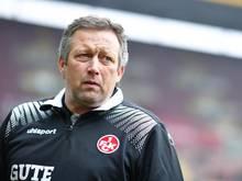 Hans-Werner Moser ist beim FC Kaiserslautern als Trainer für Jeff Strasser eingesprungen