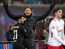 Leonard Bittencourt (l.) feierte ein perfektes Bundesliga-Comeback