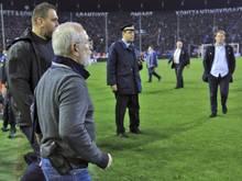 Paok-Besitzer Iwan Savvidis bekommt Stadionverbot