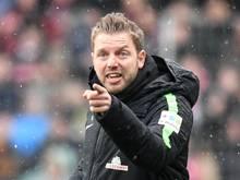 Ist mit Bremen im eigenen Stadion noch unbesiegt: Werder-Coach Florian Kohfeldt