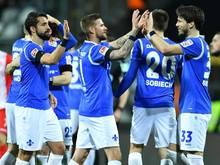 Der SV Darmstadt darf weiter vom Klassenerhalt träumen