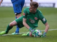 Derzeit nicht obenauf: Eintracht-Keeper Lukás Hrádecký
