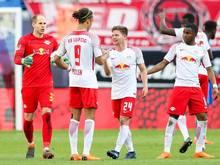 RB Leipzig hofft auf die Champions League