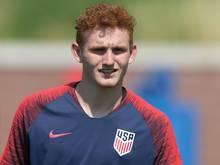Zeigte sich gleich im ersten Länderspiel treffsicher: Josh Sargent