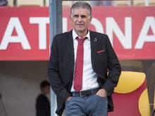 Carlos Queiroz ist von der holprigen WM-Vorbereitung der iranischen Auswahl genervt