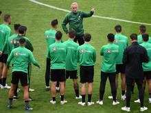 Australiens Trainer Bert van Marwijk ist von der Geschlossenheit seines Teams begeistert