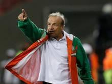 Gernot Rohr ist seit Sommer 2016 Nationaltrainer Nigerias