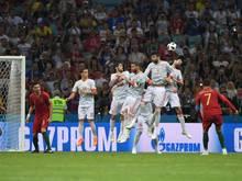Magischer Moment: Cristiano Ronaldo trifft unnachahmlich zum 3:3
