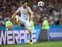 Spaniens Nacho beim Spiel gegen Portugal