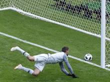 Das Tor von Paul Pogba gegen Australien wurde nachträglich als Eigentor gewertet