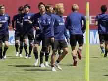Die Nippon-Stars trainieren aktuell noch ohne Shinji Okazaki