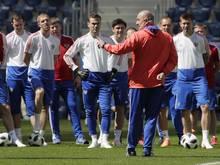Stanislav Cherchesov will die russische Mannschaft bei der Heim-WM in die K.o.-Runde führen