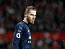 David De Gea steht vor einer Vertragsverlängerung bei Manchester United