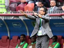 Juan Antonio Pizzi ist der Coach der Mannschaft Saudi-Arabiens