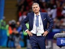 Glaubt trotz der Niederlage gegen Spanien noch an ein Weiterkommen: Iran-Coach Carlos Queiroz