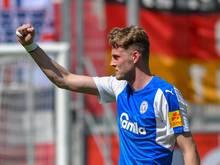 Marvin Ducksch trägt in der kommenden Saison das Trikot von Fortuna Düsseldorf