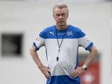 Der Ex-Nati-Coach Ottmar Hitzfeld fordert Konzentration auf Fußball