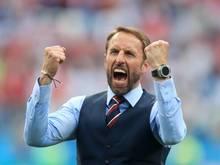 England-Trainer Gareth Southgate will auch gegen Belgien gewinnen