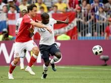 Die Partie zwischen Dänemark gegen Frankreich war das erste 0:0 der WM