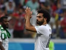 Das Treffen zwischen Mohamed Salah und Tschetscheniens autoritären Republikchef sorgte für Unmut