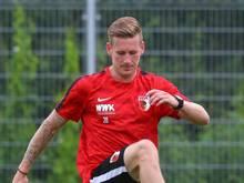 Rückkehrer André Hahn weckt große Hoffnungen in Augsburg