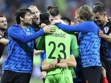 Danijel Subasic hielt den Sieg im Elfmeterschießen fest