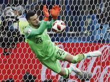 Der kroatische Torwart Danijel Subasic war der Held im Elfmeterschießen
