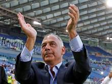 James Pallotta, der Präsident vom AS Rom, wurde von der UEFA wegen seiner Schiedsrichter-Schelte bestraft