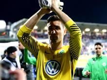 Torhüter KoenCasteels hat noch einen Vertrag mit dem VfL Wolfsburg