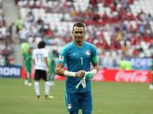Ägyptens Fußball-Torhüter Essam el-Hadary hat seine Nationalmannschafts-Karriere beendet