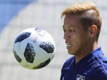 Der Japaner Keisuke Honda wird Trainer der kambodschanischen Fußball-Nationalmannschaft