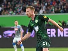 Mittelfeldspieler Maximilian Arnold hofft beim VfL Wolfsburg auf mehr Ruhe und Konstanz