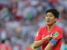 Musste mit Südkorea eine bittere Niederlage hinnehmen: Heung-Min Son