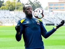 Uasin Bolt startet seine zweite Karriere