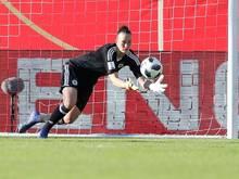 Für Keeperin Almuth Schult ist das Spiel gegen Island wie ein Finale
