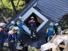 Auf Japans nördlichster Hauptinsel Hokkaido gab es ein schweres Erdbeben