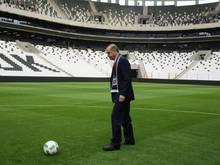 Recep Tayyip Erdogan bei der Eröffnung des Stadions von Besiktas Istanbul