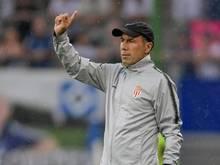 Monacos Trainer Jardim hat derzeit wenig zu lachen