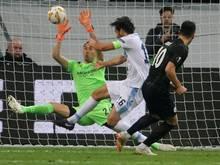 Eintracht Frankfurt gewann überraschend souverän gegen Lazio