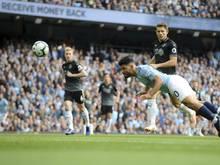 Sergio Agüero traf zum zwischenzeitlichen 1:0