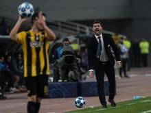 Bayern Münchens kommender Gegner AEKAthen ist in der griechischen Liga nicht über ein Unentschieden hinausgekommen