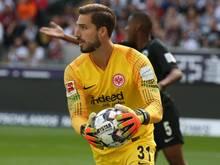 Wird vom DFB zur Kasse gebeten: Eintracht-Keeper Kevin Trapp