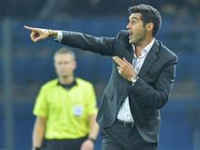 Muss mit Donetsk ein Heimspiel auswärts austragen: Shakhtar-Coach Paulo Fonseca