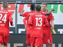 Simon Terodde trifft für den 1. FC Köln wie am Fließband